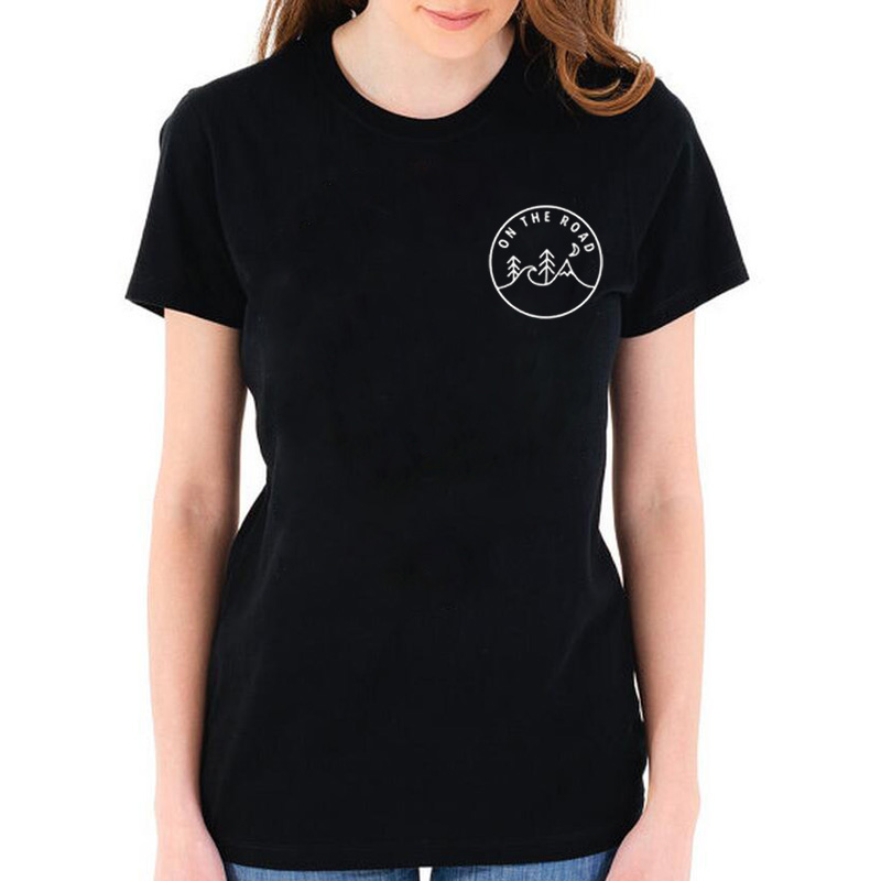 a98299f8687 Detail Feedback Questions about On the Road Adventure T Shirt Women ...