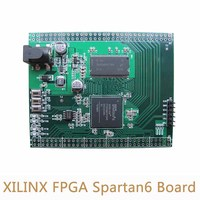 XILINX FPGA Spartan6 Development Board XC6SLX16 SDRAM Board Wide Range Input DC DC For Electronic Engineer