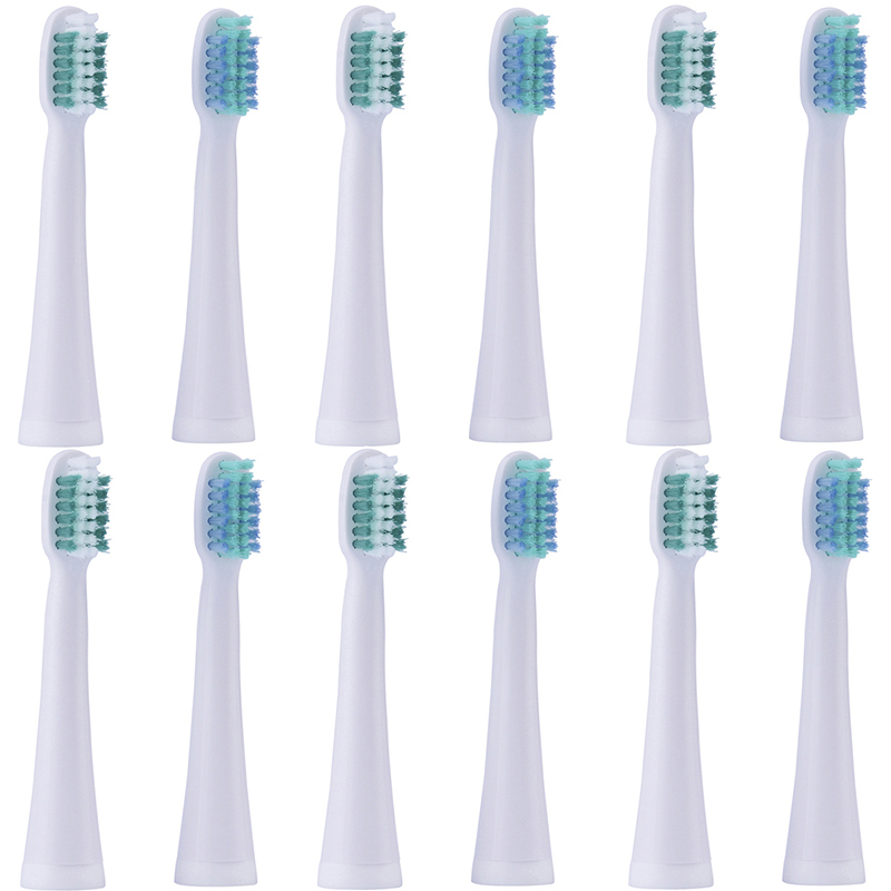 Soft DuPont Bristles Toothbrushes Heads Suitable for LANSUNG A39 A39Plus SN901 SN902 A1 U1 Ultrasonic Electric Toothbrush Teeth