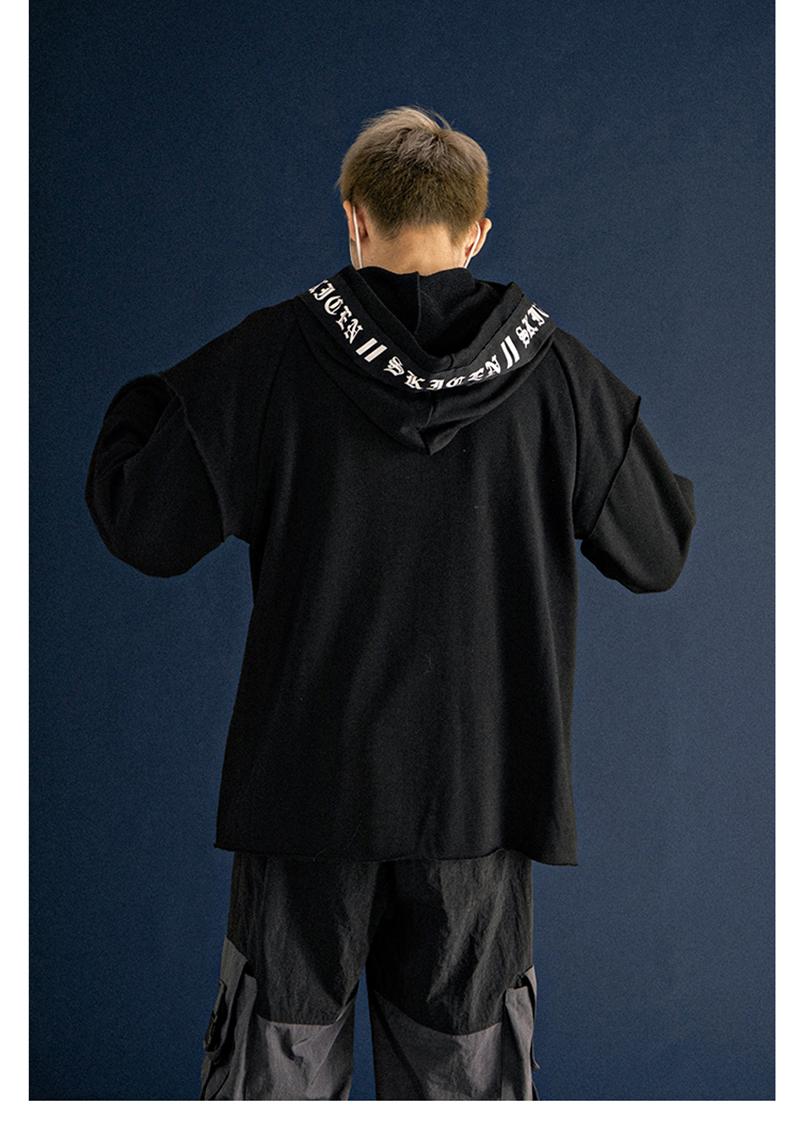 Long Sleeve Fleece Men Sweatshirts Plush Raglan Pullovers Hoodies Mens   (7)