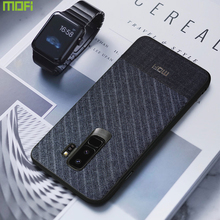 MOFi Suit Fabric with Silicone Edge Case for Samsung Galaxy S9, S9Plus