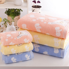 70x140cm calf elephant bath towel thicken and pure cotton Bathroom Beach Towel for Adult Commodity Multifunction