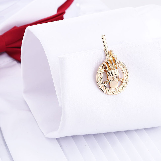 2 Color Game Thrones Jewelry Cuff Links Hand French Shirt Luxury Cufflink