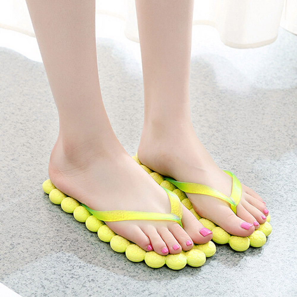 ecfa1eb1180df3 2018 Hot Women s Summer Fashion Casual Flip flops Slippers Traveling ...
