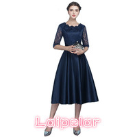 2018 Elegant Wedding Party Dresses Bridesmaids Lace Dress Women Summer Long Ball Gown Dress Female Plus Size vestidos 4XL