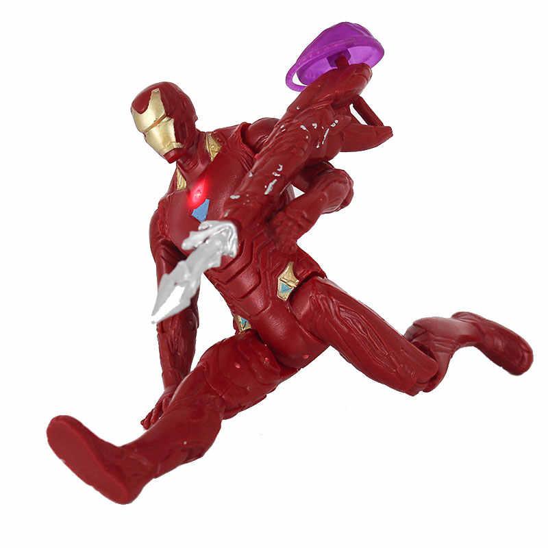 هاسبرو الأعجوبة المنتقمون الشكل العمل دمى مفاجأة الكابتن المعجزة الهيكل الرجل الحديدي سوبرمان نموذج الديكور هدية لعبة للأطفال