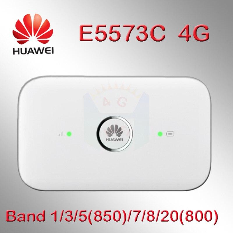 Desbloqueado Huawei e5573 4g dongle 4g router wi-fi E5573cs-322 4g e5573s  router wi-fi mifi Hotspot Móvel Sem Fio 4g slot para cartão sim