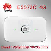 Odblokowany Huawei e5573 4g dongle 4g router wi-fi E5573cs-322 4g mifi mobilny Hotspot bezprzewodowy e5573s router wifi 4g gniazdo karty sim
