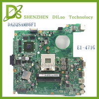 For Acer E1 471 E1 471G Aspire DAZQSAMB6F1 Laptop Motherboard DDR3 E1 471 Mainboard 100 Tested