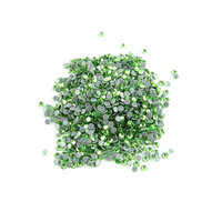 DIY,Hotfix Rhinestone,ss20 100gross/bag Light Green Round Glass FlatBack Crystal Rhinestone For Clothes,Shoes,Pants,Dress