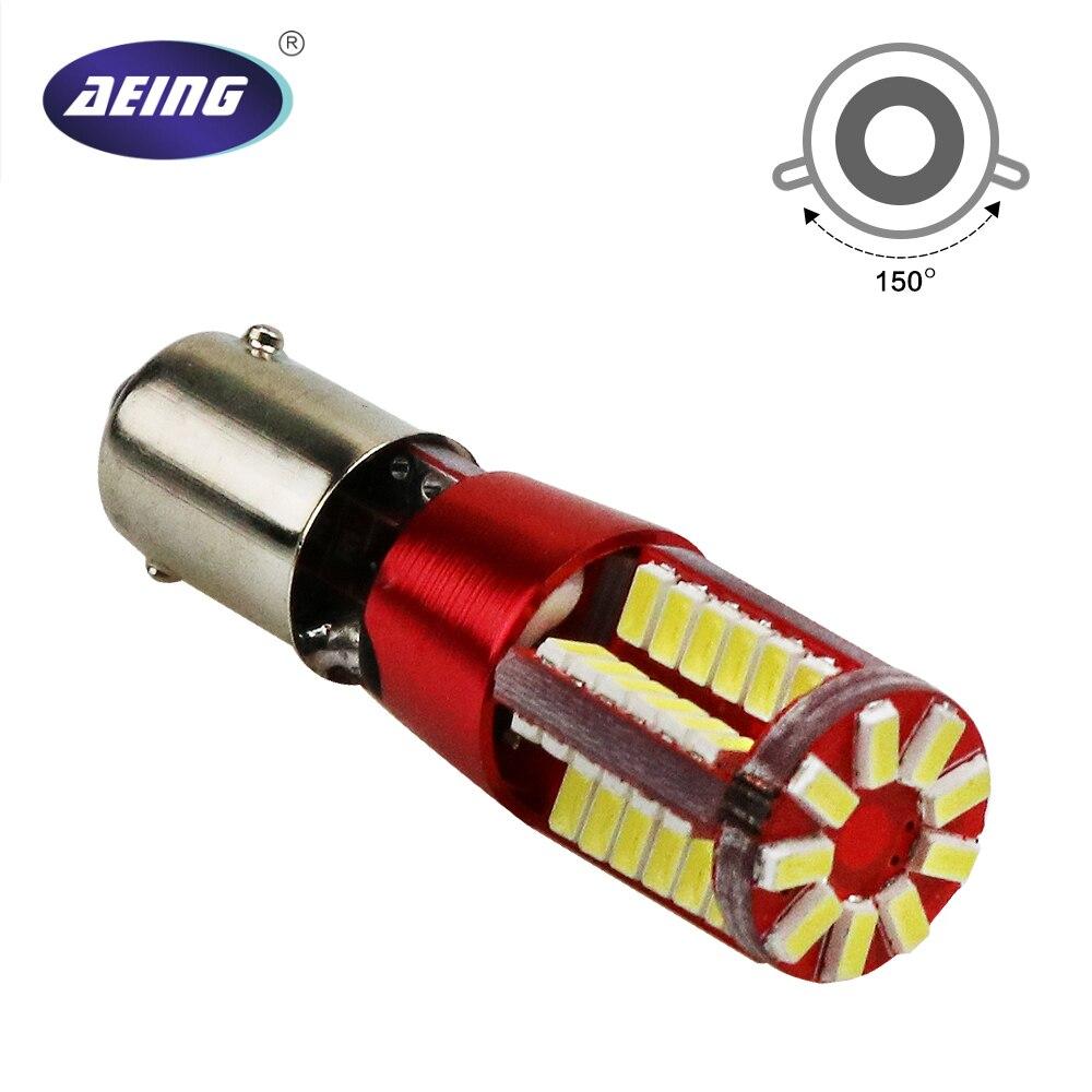 AEING 1*12 V BAX9s 64132 H6W 57SMD No OBC/Canbus libre de Error Led de la cuña de aparcamiento/indicador /MAPA de la cúpula/bombillas de la lámpara de la placa de la licencia ELM327 ELM 327 V1.5 de plástico OBDII EOBD CANBUS escáner sin FT232RL Chip