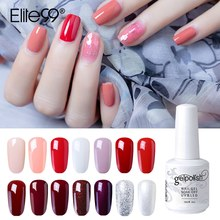 Elite99 15ml Gel Nail Polish Soak Off DIY Nail Art Gel For Nail Top Base Coat Needed Vernis Semi Permanant UV Gel Polish Lacuqer(China)