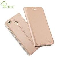 E Tree Brand Leather Case For Xiaomi Redmi 4x Phone Case Flip Cover For Xiaomi Redmi