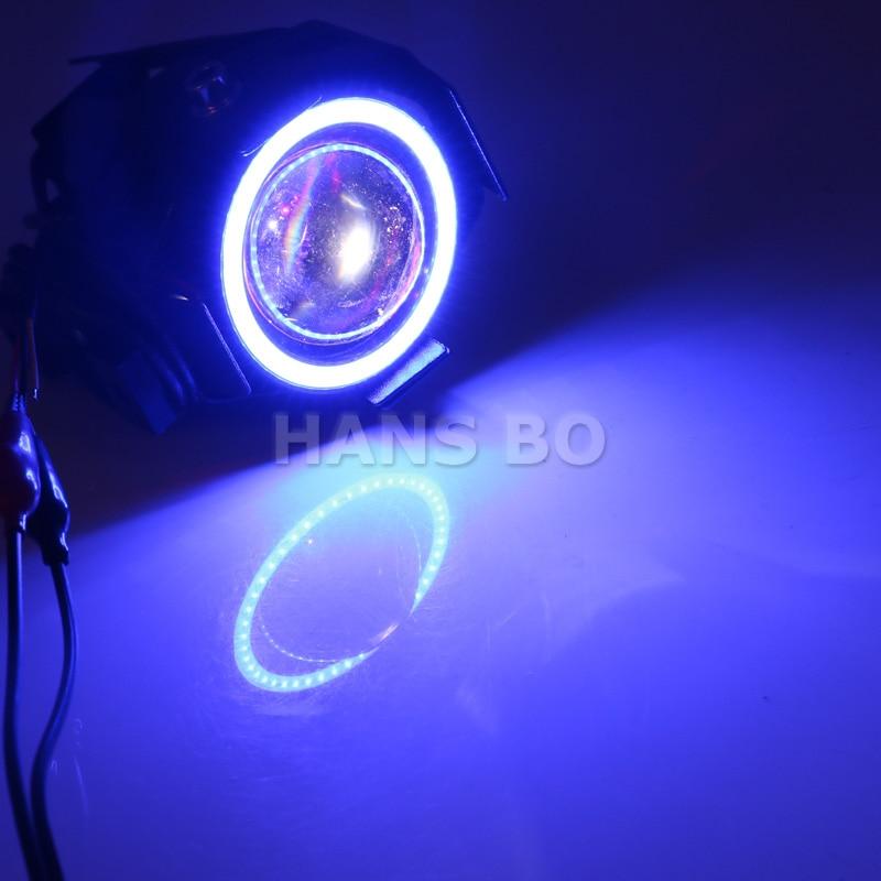 2PCS LYLLA 12V 125W мотоцикл U7 LED жарықтандыру - Мотоцикл аксессуарлары мен бөлшектер - фото 4