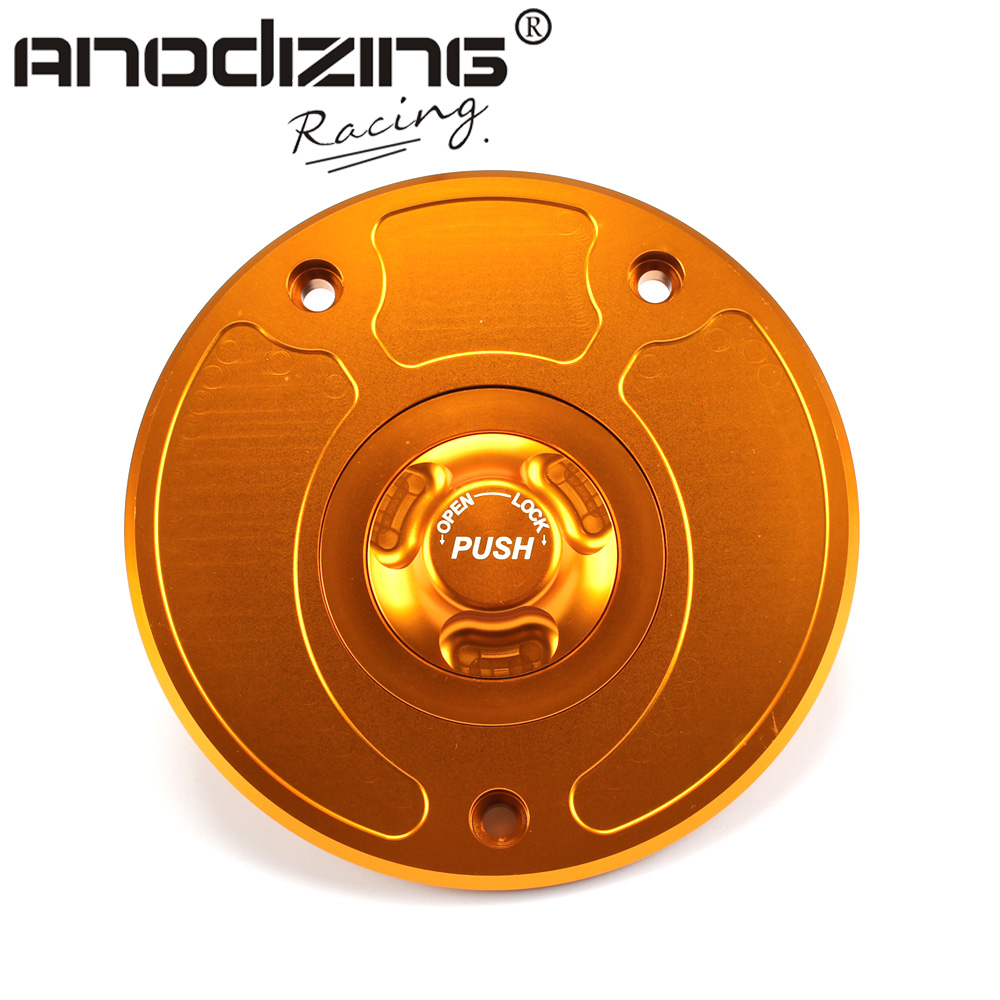 Motorcycle New CNC Aluminum Fuel Gas CAPS Tank Cap tanks Cover With Rapid Locking For KAWASAKI Z750 Z1000 ZX-10R ZX-9R brand new motorcycle cnc rc fuel tank gas cap fit for 1996 2014 harley sportster dyna touring softtail