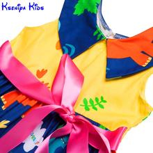 Sleeveless Peter Pan Collar Ribbons & Bow Knot Cotton Summer Dress