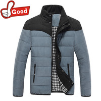 New Arrival Men Jacket Warm Cotton Coat Mens Casual Handsome Outdoor Thicking Parka Winter Coats Winter