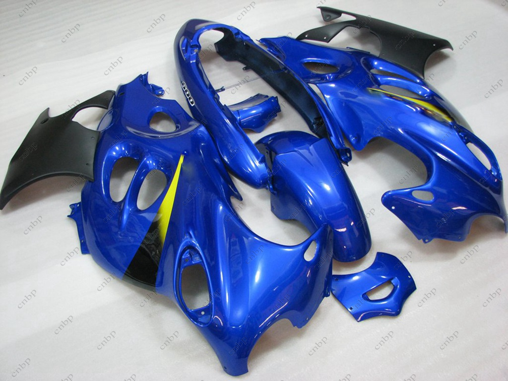 Buy Fairing GSX 750 2002 Plastic Fairings GSX600F 05 06 1998 - 2006 Katana Blue Black Plastic Fairings GSX750 2004