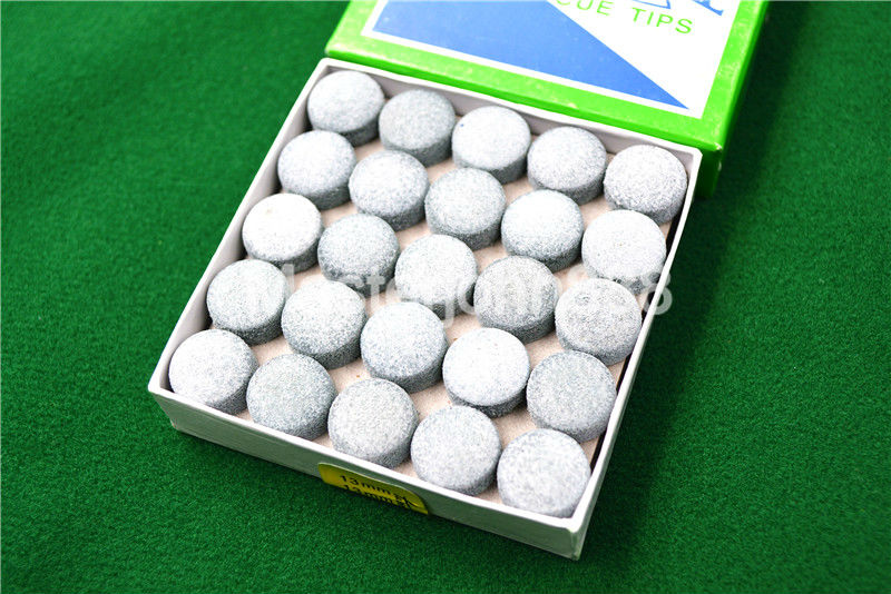 T 50pcs Glue-on Pool Billiards Snooker Cue Tips 13mm Free Shipping Wholesales