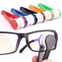 Congis 5PC/set New Microfiber Mini Sun Glasses Eyeglass Microfiber Brush Cleaner