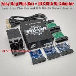 Versão mais recente Caixa Fácil-Jtag Jtag Fácil Plus Plus Caixa UFS + BGA 95 Soquete Adaptador