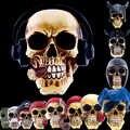 Статуи Африки домашний Декор череп для украшения смолы человеческого животного пиратский череп собрать Скелет абстрактная скульптура рез...