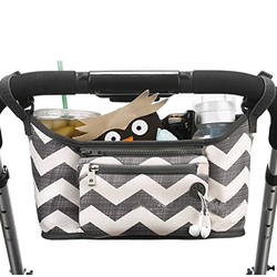 Cartoon Baby Stroller Organizer Bag Large Capacity Diaper Bag Waterproof Bebe Carriage Storage Bag For Pram Stroller Accessories