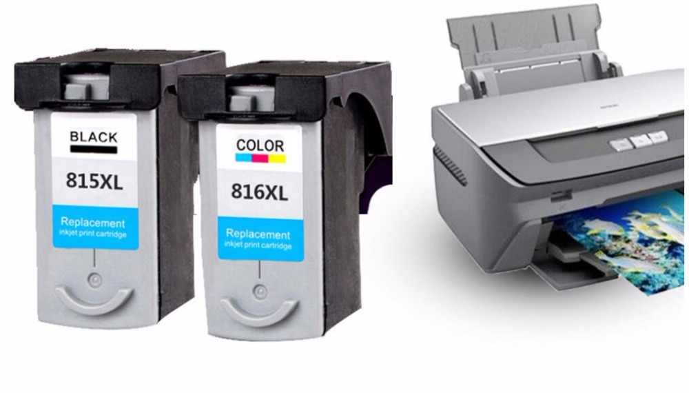 PG-815 CL-816 Cartucho de Tinta para Cartucho de Impressora CANON PIXMA IP2780 IP2788 MP259 MP288 MX348 MX358