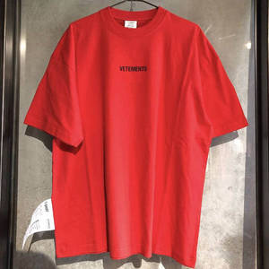 2019 Vetements t shirt men wom