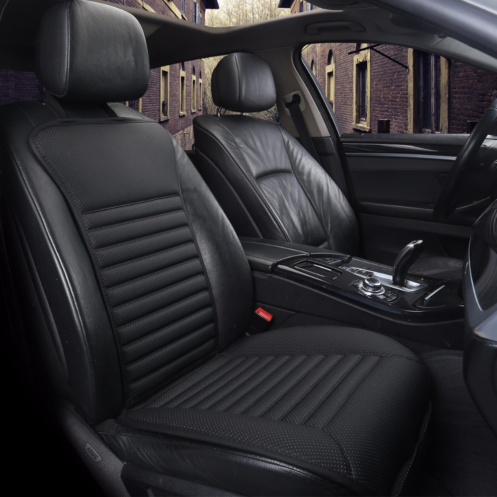 2018 Brand New Arrival Pu Leather Car Seats Pad Not Moves