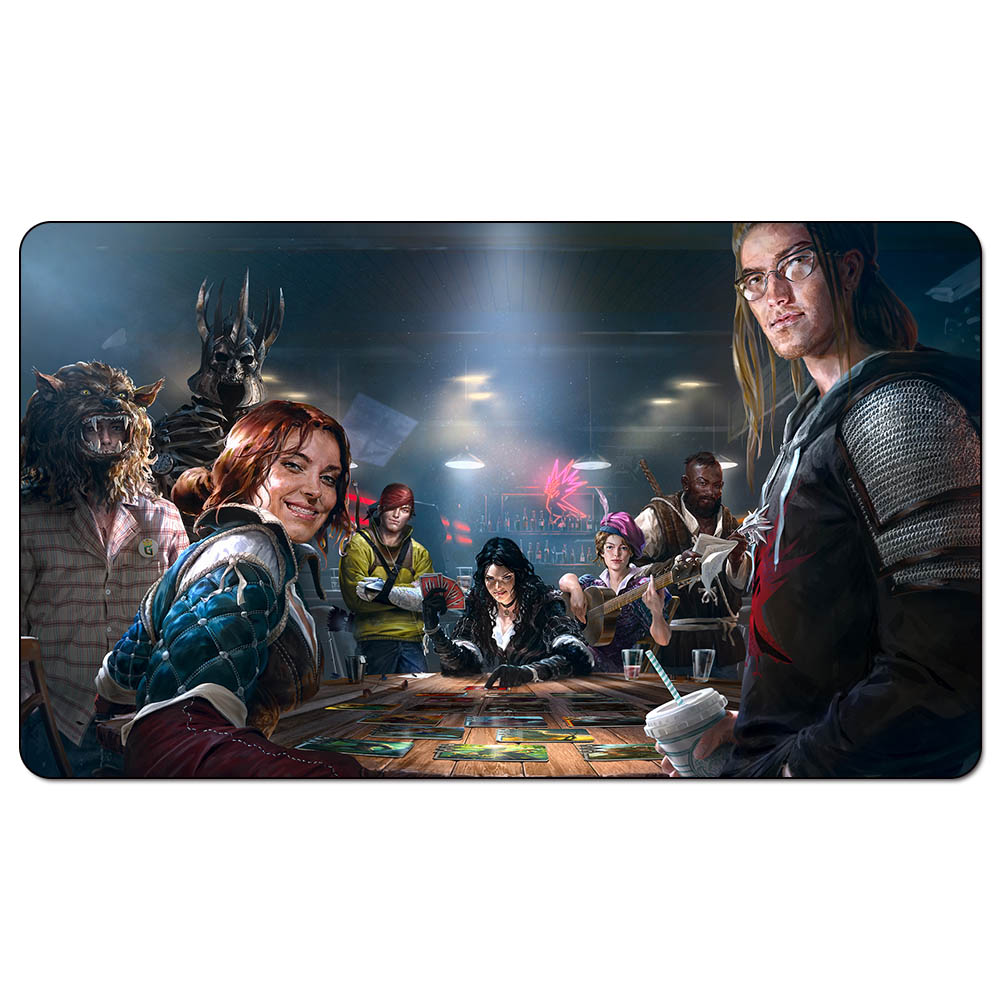 Magic Trading Card Game Playmat: Gwent Main Promo Art Playmat For Trading Card Game 60cm X 35cm (24