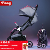 Vinng stroller lightweight folding can sit baby ultralight small umbrella simple children mini cart