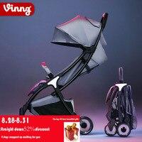 Vinng stroller lightweight folding can sit baby ultralight small umbrella simple children mini cart