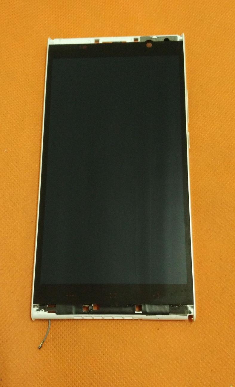 """bilder für Original LCD Display + Touch Screen + Rahmen für Kingzone K1 Turbo MTK6592 5,5 """"1920x1080 NFC Kostenloser Versand"""