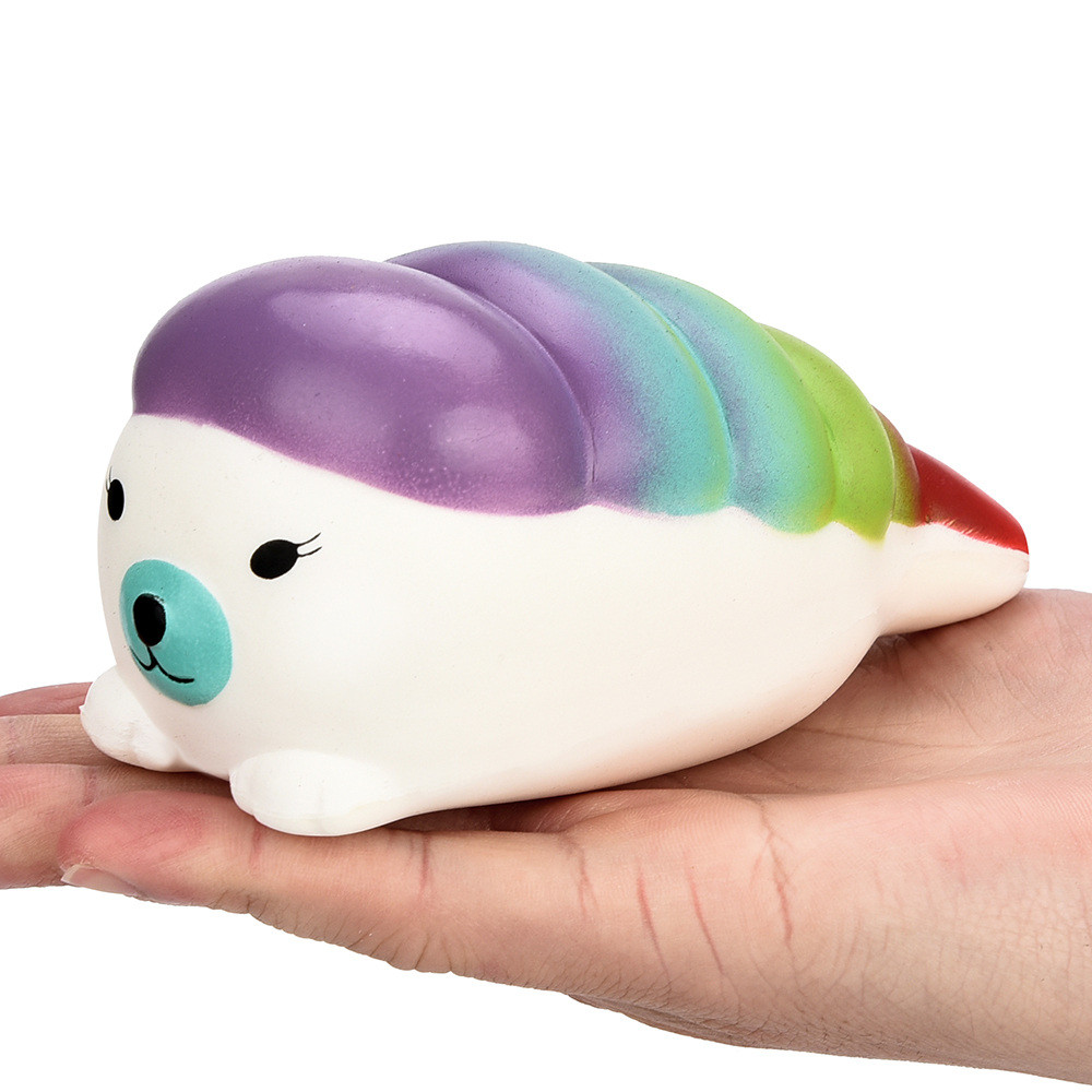 2018 cute boy girl toys 12cm Squishy Jumbo Sushi Scented Charm Slow Rising Squeeze Stress Reliever Toy