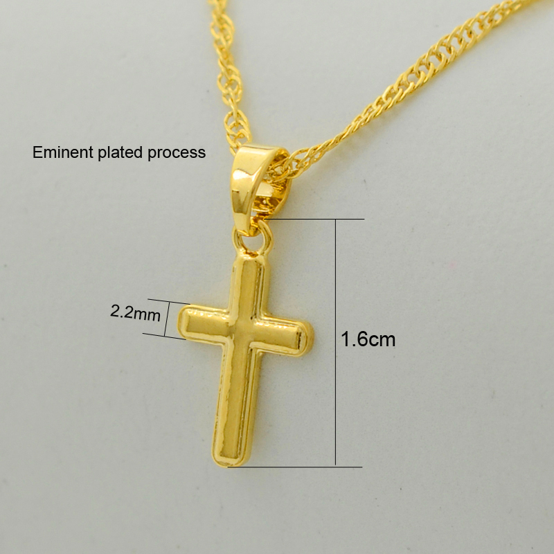 Anniyo small cross pendant necklace women girlmini charm pendant anniyo small cross pendant necklace women girlmini charm pendant gold color jewelry crucifix christian ornaments 051002 in pendant necklaces from jewelry aloadofball Images