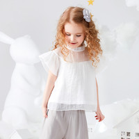 Girls t shirt 2019 summer children's short sleeved big virgin baby child half sleeve princess t shirt baby t shirt