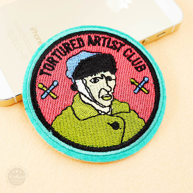 Cute Iron On Kids Cartoon Patches