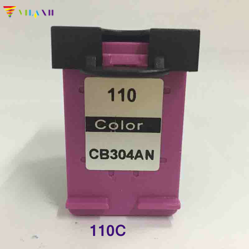 Vilaxh compatible 110 color Ink Cartridge replacement For HP 110 for Photosmart A310 A311 A314 A316 A320 A516 A526 A612 printer