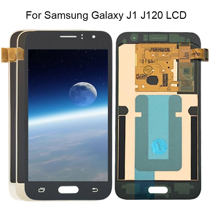 Y-HOIVA Super AMOLED LCD pour Samsung Galaxy 2016 J120 J120F J120H J120M LCD écran tactile numériseur assemblée autocollant gratuit
