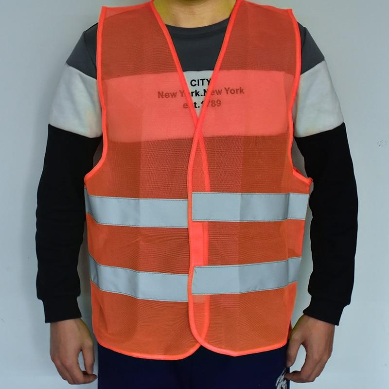 FGHGF Visibility Security Safety Vest Jacket Reflective Strips Work Wear Uniforms Clothing Safety Clothing Sicherheitsbekleidung