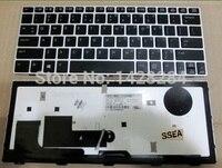 Ssea nuevo teclado de los EEUU del envío libre para HP elitebook revolve 810 G1 con retroiluminación