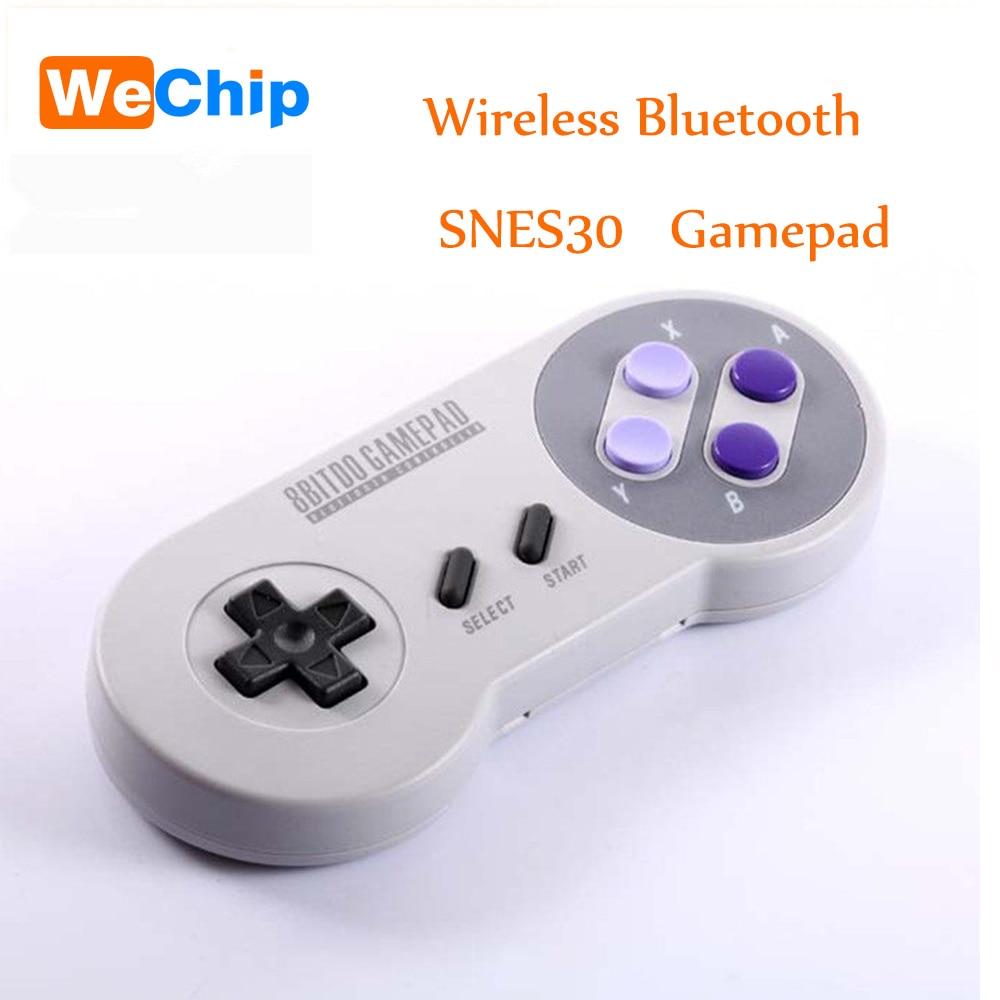 Wechip 8bitdo snes30 Беспроводной bluetooth геймпад двойной джойстик Спиннеры для IOS Android/Оконные рамы и Планшеты PC