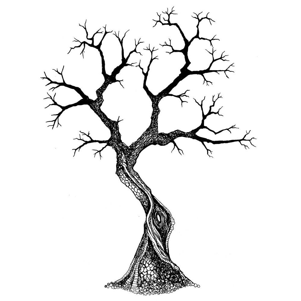 Tree Clear Stamp For Scrapbooking Transparent Silicone Rubber DIY Photo Album Decor 662
