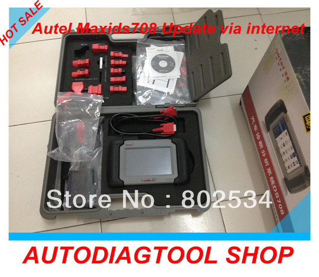 2013 Top-Rated Autel MaxiDAS DS708 Professional Car diagnostic tool scanner update online