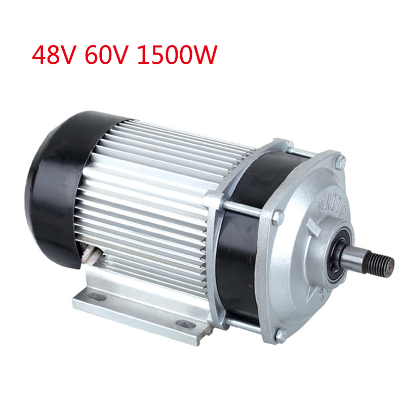Electric Tricycle Modified Parts 48V <font><b>60V</b></font> <font><b>1500W</b></font> Brushless DC <font><b>Motor</b></font> For Motorcycle E Car Wheelbarrow Handle Gear Decelerate <font><b>Motor</b></font> image