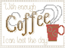 Coffee shop decorazione contati punto croce kit ago arts & craft embroidery fai da te regalo artwork 14ct stampati piccolo modello(China)