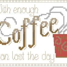coffee shop decoration counted cross stitch kits ne