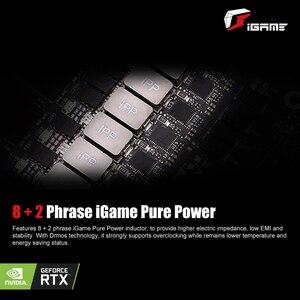Image 4 - بطاقة رسومات GeForce RTX 2060 6G ملونة بطاقة فيديو للألعاب Nvidia GDDR6 GPU 1365 1680 ميجاهرتز PCI E 3.0 بلاسا دي فيديو للكمبيوتر