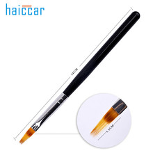 HAICAR 1pc DIY Wood Handle UV Gel Nail Art Tip Care Pen Brush High Quality Professional Manicure Brushes Pen Tool